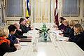 Saeimas priekšsēdētājas oficiālā vizīte Ukrainā (16540079785).jpg