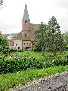 church located in Bas-Rhin, in France
