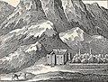Saint Catherine's Monastery, Carsten Niebuhr, 1762.jpg