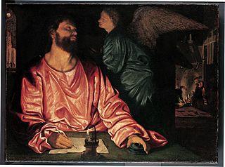 Saint Matthieu et l'Ange