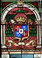 Saintes Saint-Pierre - Fenster 5b Therese Kardinalswappen.jpg