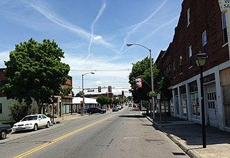 Salem, Virginia - Main Street in Salem