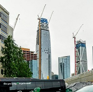 Salesforce Tower - Image: Salesforce Tower April 2017