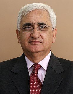 Salman Khurshid Indian politician and presently the Cabinet Minister of the Ministry of External Affairs, born 1953