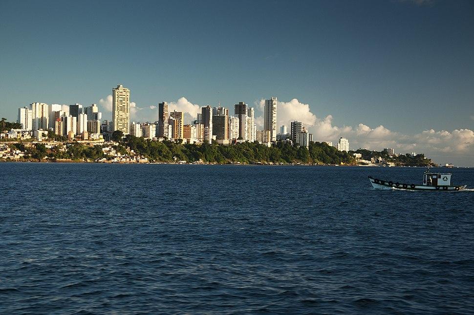 Salvador Brazil skyline