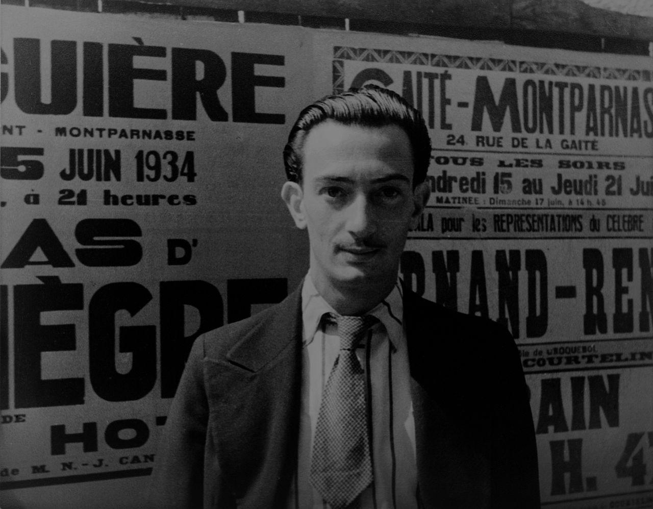 Карл Ван Вехтен, Сальвадор Дали в Париже, 1934