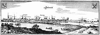 Salzwedel - Salzwedel in 1652