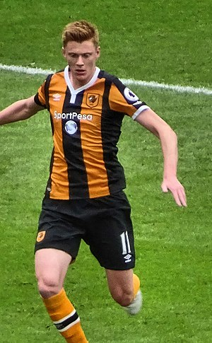 Sam Clucas - Clucas playing for Hull City in 2016