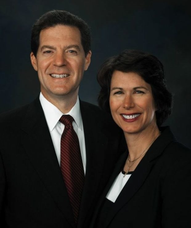 Sam and Mary Brownback (cropped)