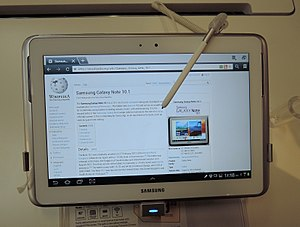 Samsung Galaxy Note 10 1 - Wikipedia