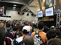 San Diego Comic-Con 2011 - giving away stuff at the Sideshow Collectibles booth (6039797890).jpg