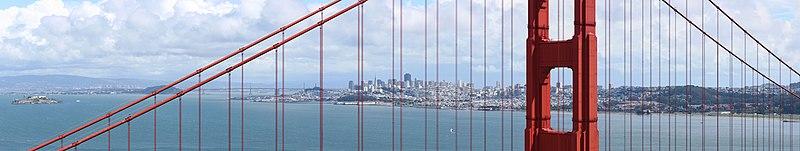 File:San Francisco through GGB.jpg