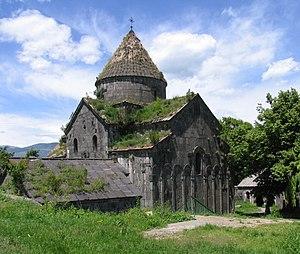 Sanahin Monastery - Amenaprkich (Holy Redeemer) church