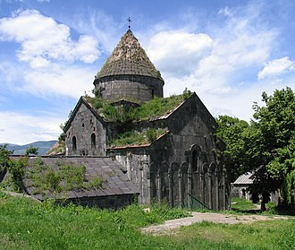 Sanahin Monastery - Amenaprkich (Holy Redeemer) church