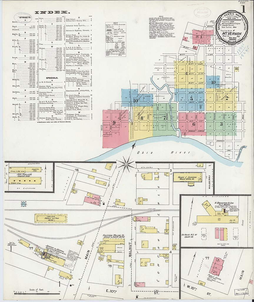 File Sanborn Fire Insurance Map From Mount Vernon Posey County
