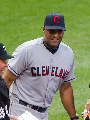 Sandy Alomar Jr. - Alomar Jr. with the Cleveland Indians