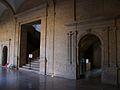 Sant Miquel dels Reis, portades al claustre.JPG