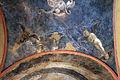 Santa cecilia, resti di affreschi della scuola dell'aspertini, redentore e angeli 01.JPG