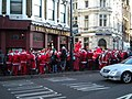 Santas at the Worlds End, Camden High Street NW1 - geograph.org.uk - 1617290.jpg