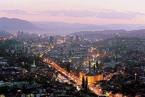 Sarajevo: Sarajevo twilight