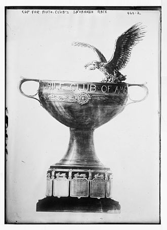 United States Grand Prix - American Grand Prize trophy