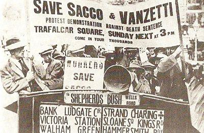 Joder Sacco y Vanzetti