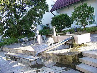 Zell unter Aichelberg - Schäferbrunnen Zell unter Aichelberg (shepherd fountain)