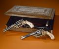 Schatull med två revolvrar från Turkiet - Livrustkammaren - 22269.tif