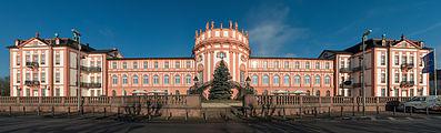 Schloss Biebrich, South view, Panini General projection 20150107 1.jpg