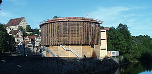 Shakespeare's Globe - Globe-Theater, Schwäbisch Hall, Baden-Württemberg, Germany
