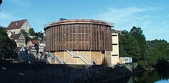 Shakespeare's Globe - Globe-Theater, Schwäbisch Hall, Baden-Württemberg, Germany