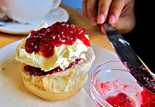 clotted cream wikipedia. Black Bedroom Furniture Sets. Home Design Ideas