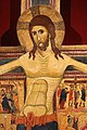 Scuola pisana, crocifisso triumphans con scene della passione, 1230-40 ca. 03.jpg
