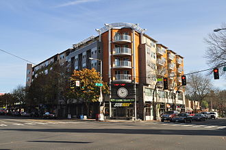Lake City, Seattle - Rekhi Building on the northeast corner of Lake City Way NE and 125th Street NE, in the heart of Lake City, 2015.