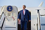 Secretary Kerry Deplanes Upon Arrival in Abu Dhabi for Meetings With Emirati Crown Prince Mohammed bin Zayed and Foreign Minister Abdullah bin Zayed (27448501852).jpg