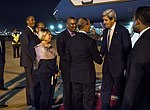 Secretary Kerry Shakes Hands With Moroccan Minister of the Interior M. Hassad (30976595186).jpg