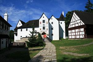 Castle Seeberg in west Bohemia