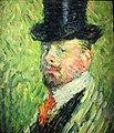 Self-Portrait with Top Hat by Alexei Jawlensky, 1904.JPG