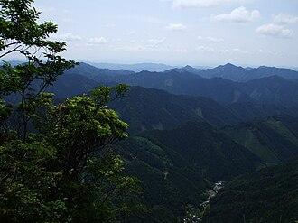 Mount Seppiko - Image: Seppiko 2