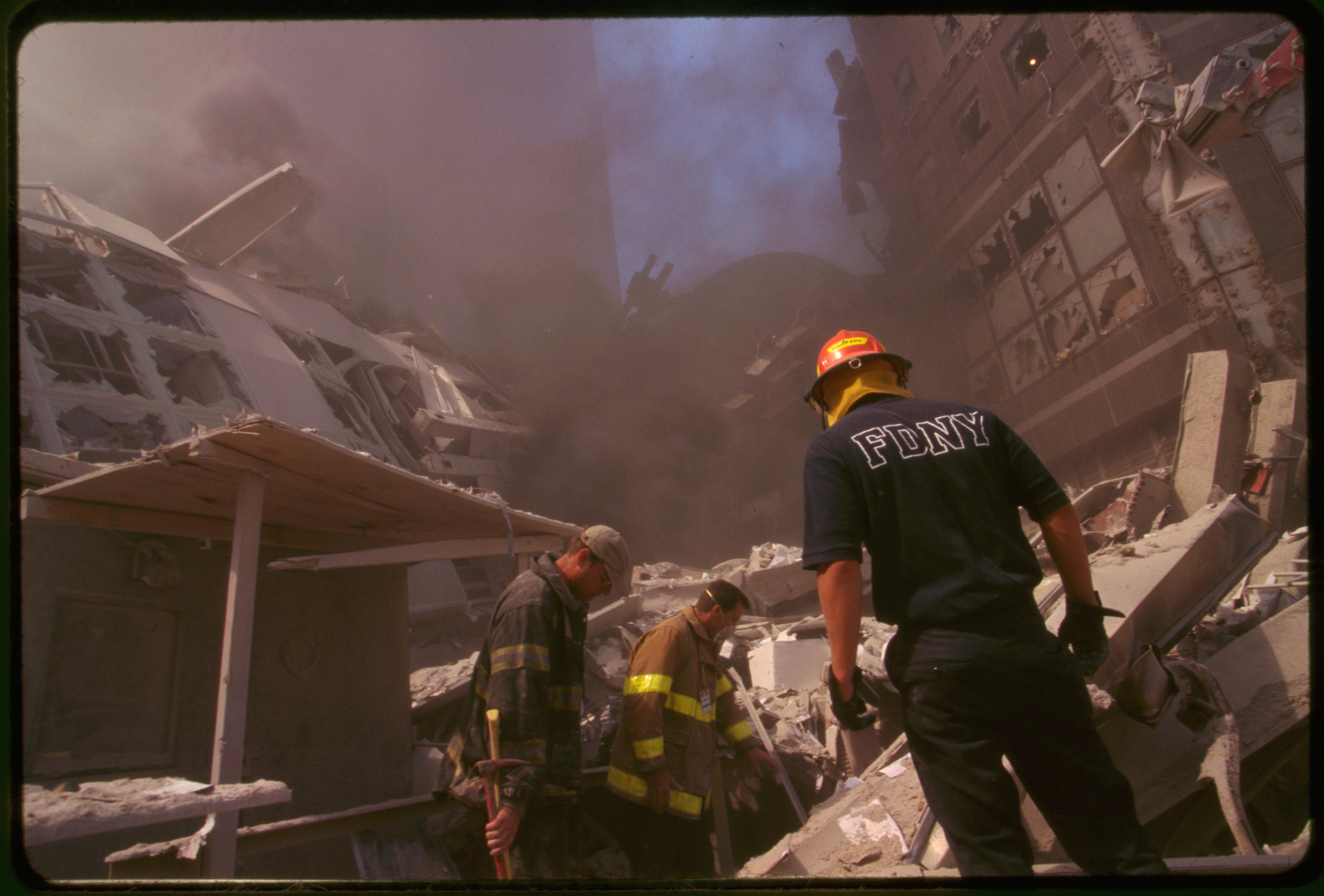 File September 11th Terrorist Attack On The World Trade
