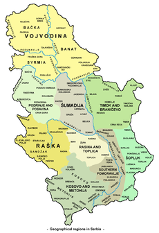 Geography of Serbia - Wikipedia, the free encyclopedia