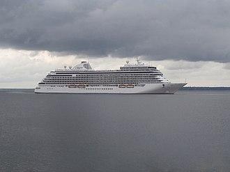 Regent Seven Seas Cruises - Image: Seven Seas Explorer in Tallinn Bay Tallinn 21 June 2018