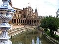 SevillaPlazaDeEspanaCanalAgua.jpg