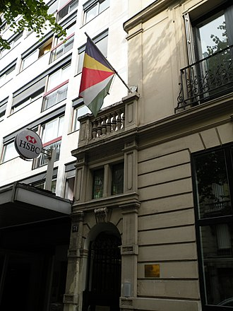 Foreign relations of Seychelles - Embassy of Seychelles in Paris