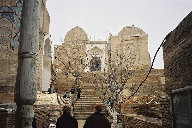 Archivo:Shahr-i-Zindah entrance.jpg