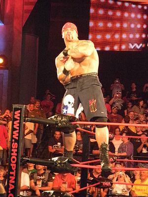 Hernandez (wrestler) - Hernandez posing in 2010