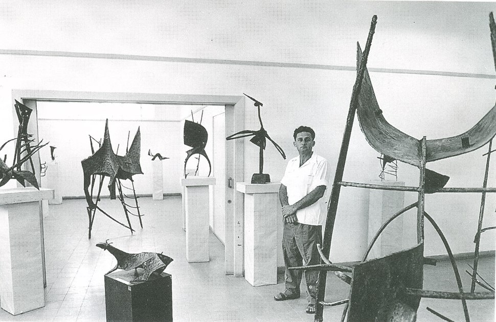 Shemi at Beit Dizinghof 1957