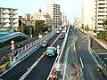 Shin-Koiwa overpass, west-side, Katsushika, Tokyo, Japan.jpg