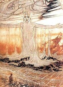 Rán in un'illustrazione di Arthur Rackham.