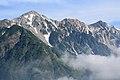Shirouma three Mountains from Happo Ridge.jpg